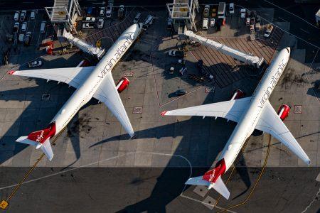 ヴァージン・アトランティック航空(VS)の新しいA350機材内装「The Booth」